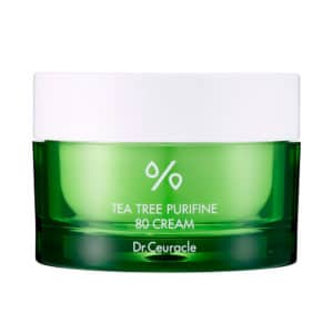 Dr. Ceuracle Tea Tree Purifine 80 Cream крем з зеленим чаем
